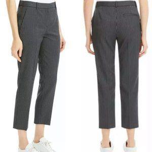 THEORY Pale Stripe Wool Gray Pants. 10